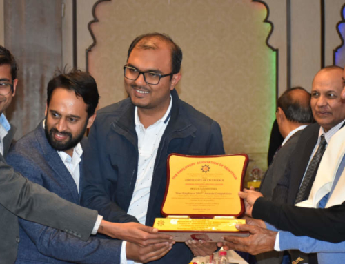 EAR Facilitates us with Award of Excellence | Indibni